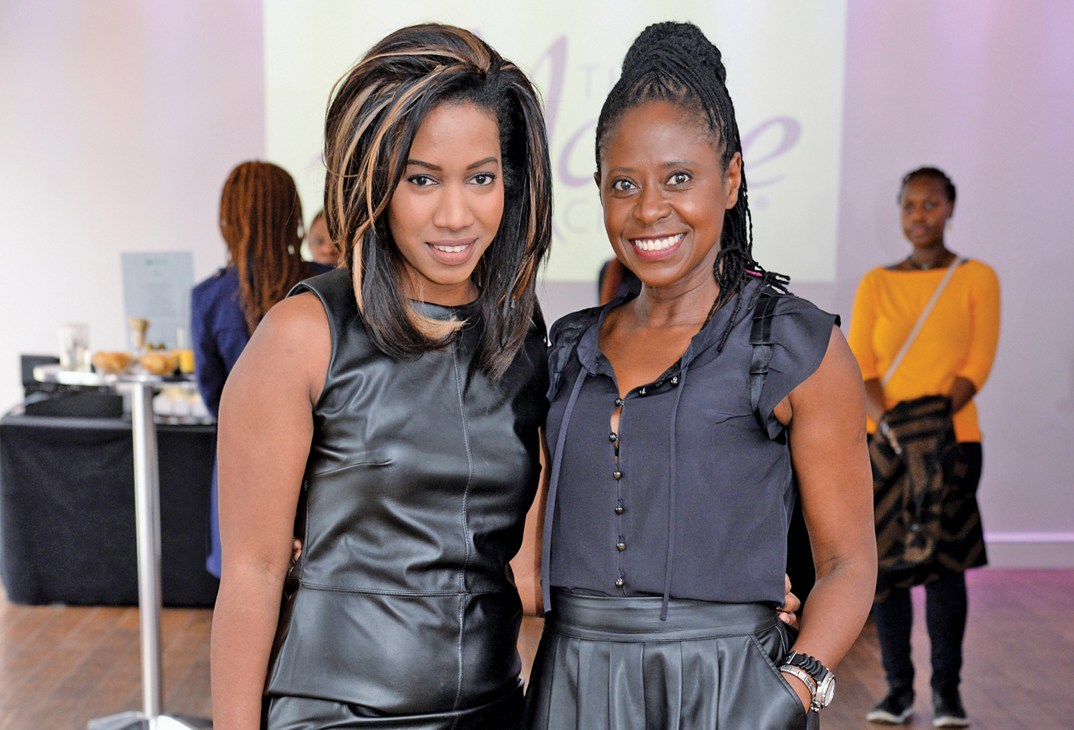 (From left) Deputy editor Jemima Cousins and editor-in-chief Irene Shelley