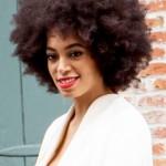 Solange Afro Bridal