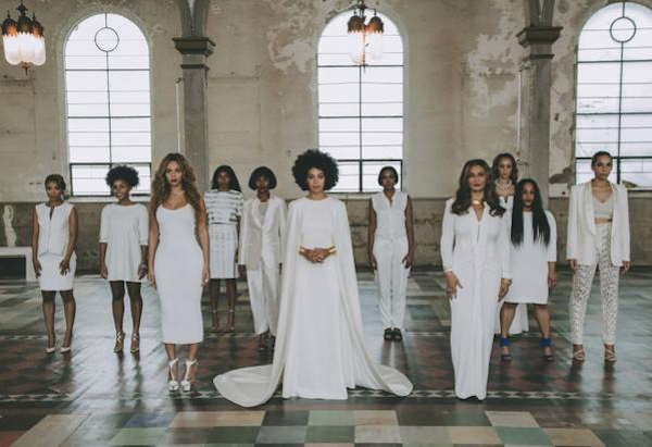 Solange gets married in style