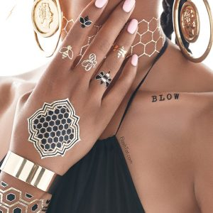 Beyonce x Flash Tattoos Collection (5)