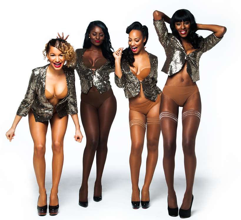 Nubian Skin hosiery launches in House of Fraser