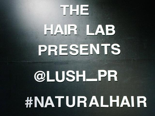 Lush natural hair event