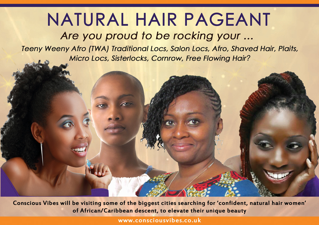 Natural hair pageant