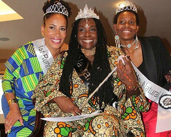 Conscious Vibes crown Ms Natural Hair UK