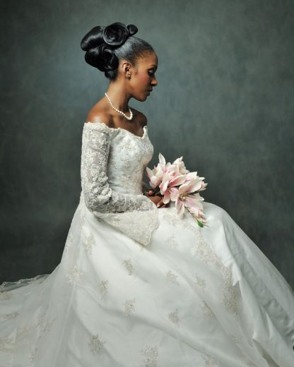 Bridal styles by Junior Green Hair and Beauty