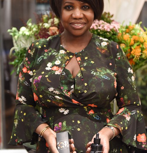Charlotte Mensah launches manketti oil product range