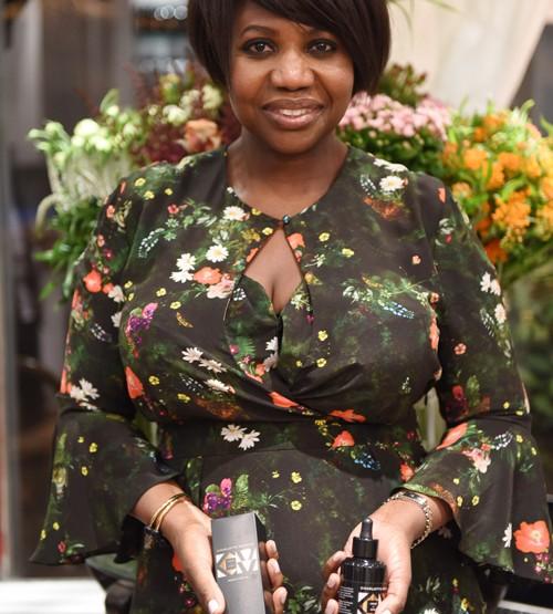 Charlotte Mensah launches manketti oil product range