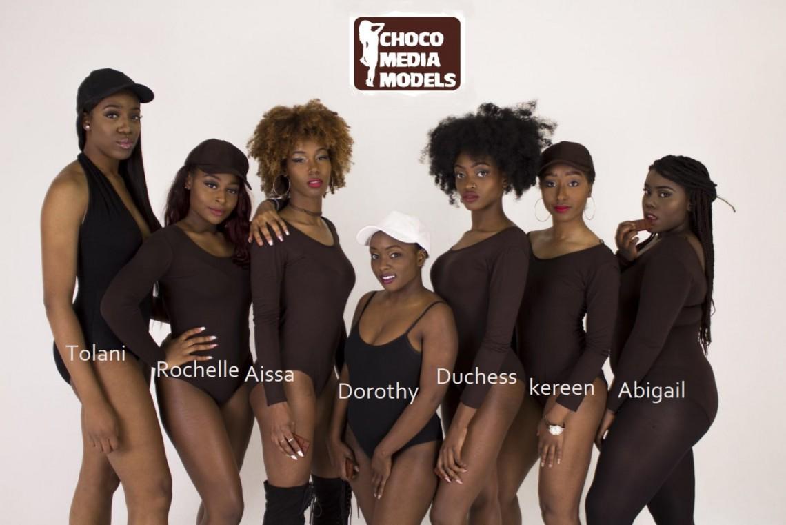 girl models nn Black