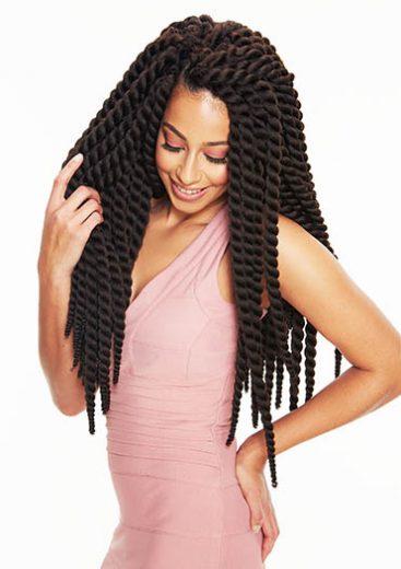 Crochet braids by Sleek Hair