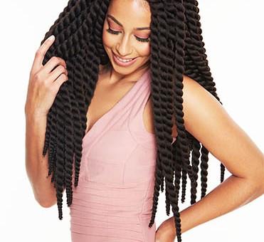 Crochet braids by Sleek Hair