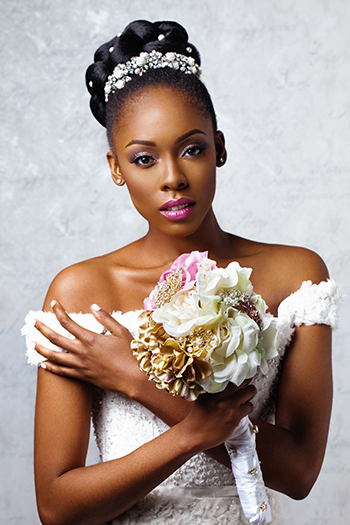 Be a blemish free bride