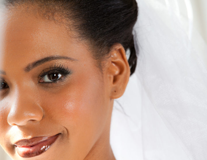 Five skincare tips for natural brides