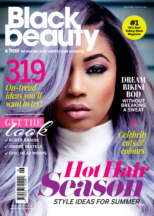 beauty hair july magazine june issue bbh covers