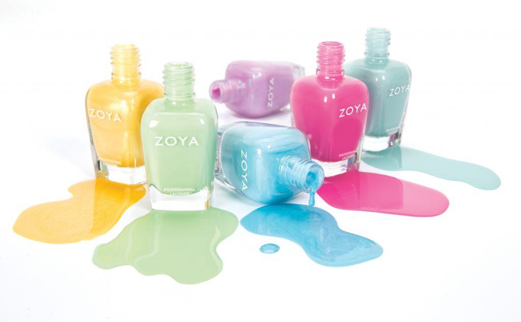 Zoya Pastel colours