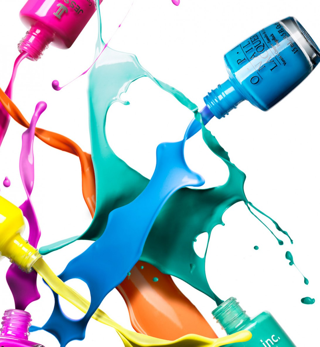 spilled nail polish coloring pages - photo#9