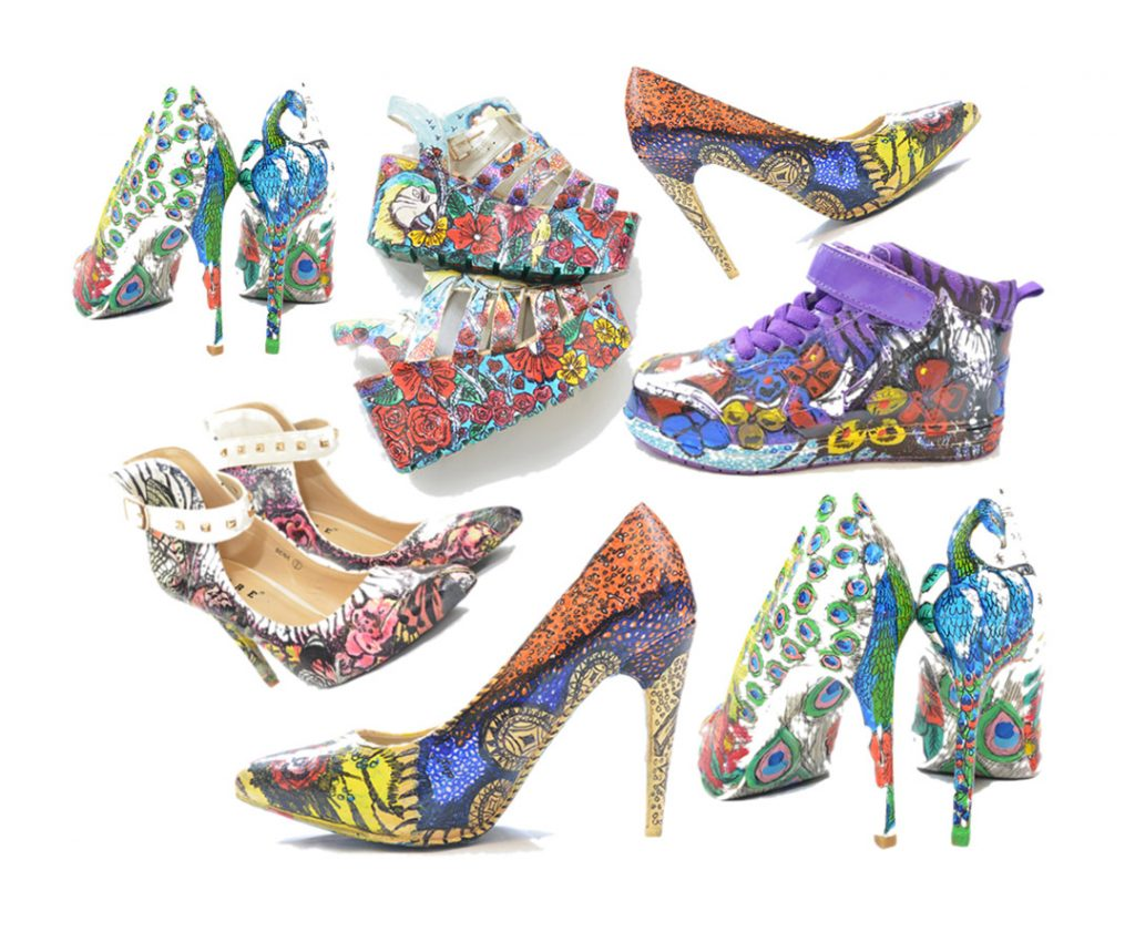 Amanda Graham Shoes LR