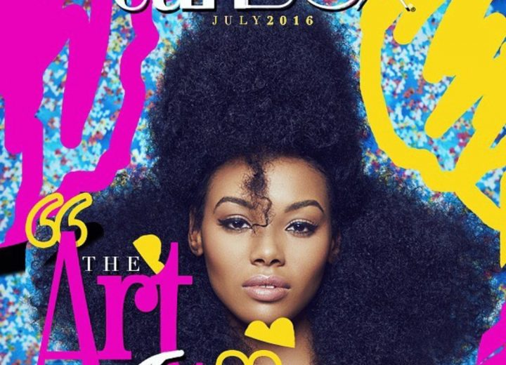 Big, bold and edgy hair is trending, says Pekela Riley