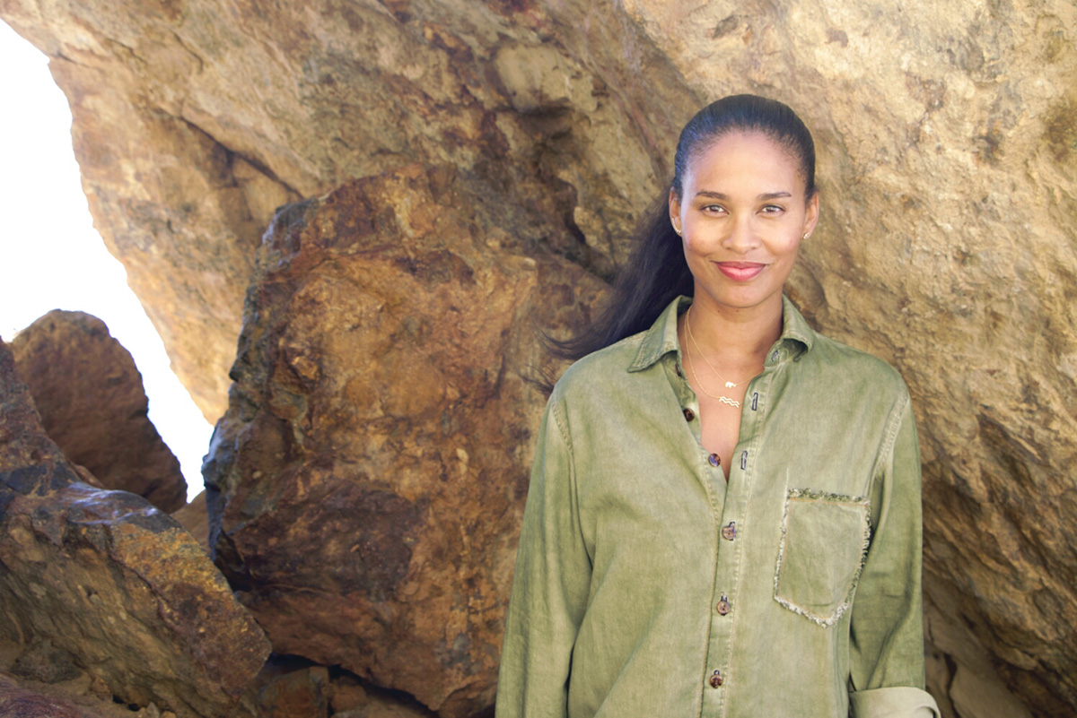 Joy Bryant launches fashion range in Selfridges
