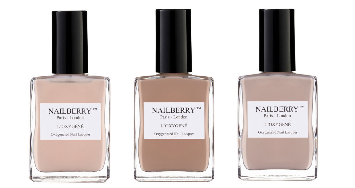 In the nude: Nailberry's natural shades for autumn