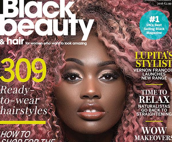 Tosin Bodija   Black Beauty & Hair October/ November Cover Girl