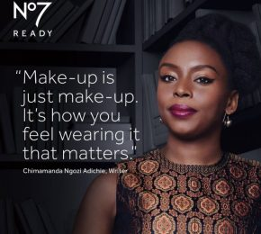 Chimamanda Ngozi Adichie Face of New Boots No7 Campaign