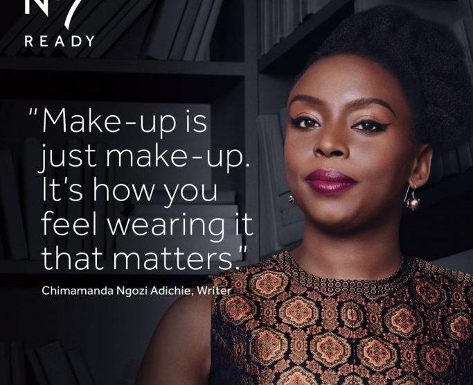 Chimamanda Ngozi Adichie Face of New Boots No7 Campaign