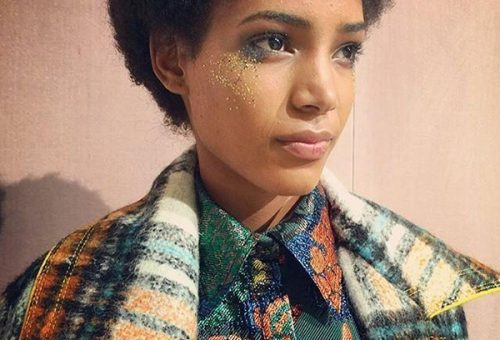 Glitter make up THE big trend for A/W 2016