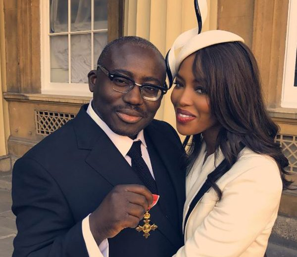 Edward Enninful awarded OBE