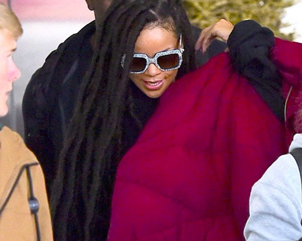 Faux sure! Rihanna shows off her faux locs on Instagram