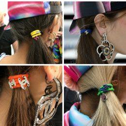 Hair accessories: Chanel's hair ties
