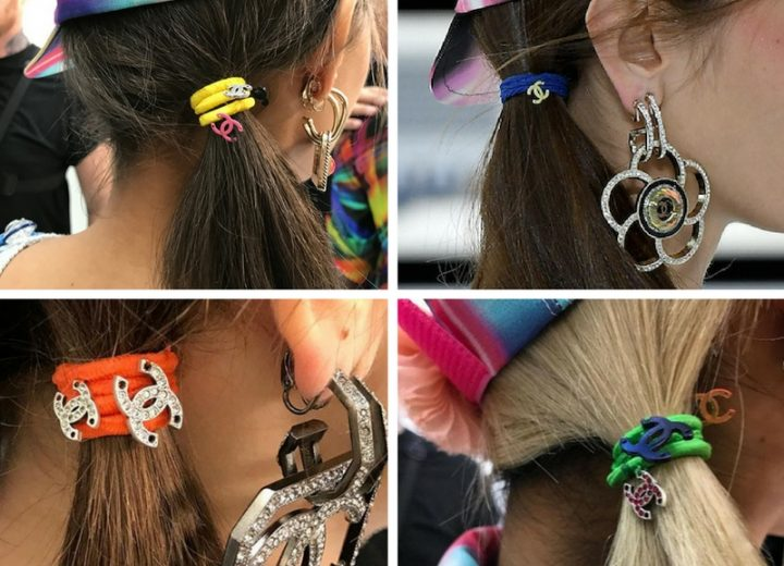Hair accessories: Chanel's hair ties
