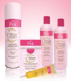 5 Luster's Pink Shea Butter Coconut Oil Styling Sets