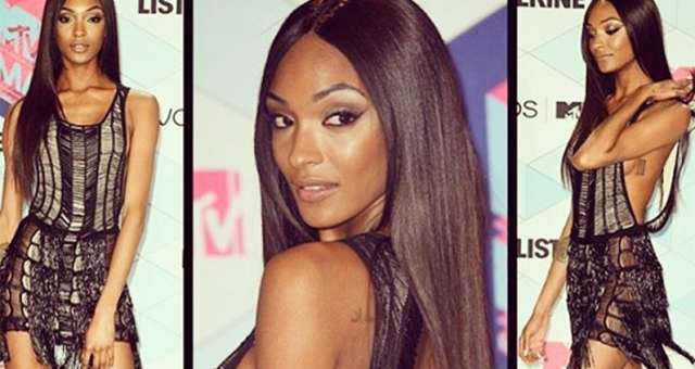 Jourdan Dunn stuns on the MTV EMA 2016 red carpet