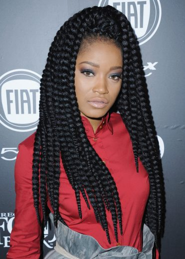 Keke Palmer hair crush