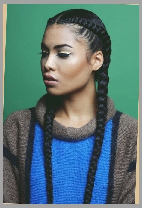 Two Cornrow Hairstyle