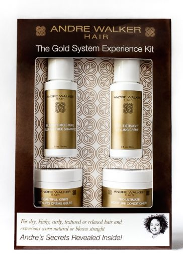 3 Andre Walker Gold System Experience Sets