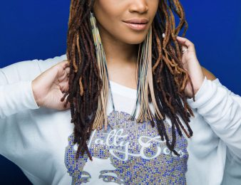 Best earrings to set off short to long locs
