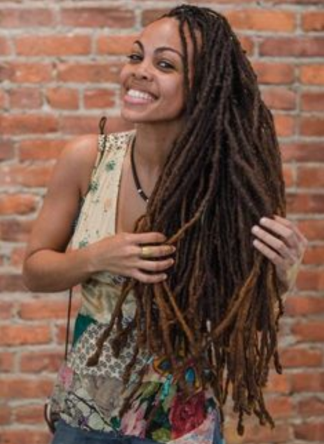 Candace Morrow On The The Best Earrings For Locs