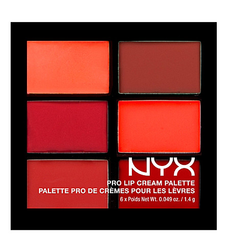 Top 5 Red Lip Palettes