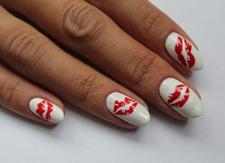 Valentines Day nail art tips