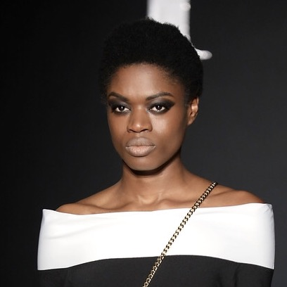 Black eyes by PPQ at London Fashion Week 2017