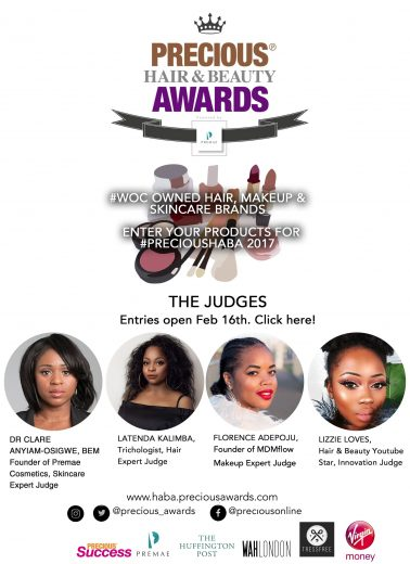 Precious Hair & Beauty Awards