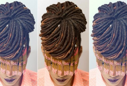 How to get 'ballsy' with loc buns
