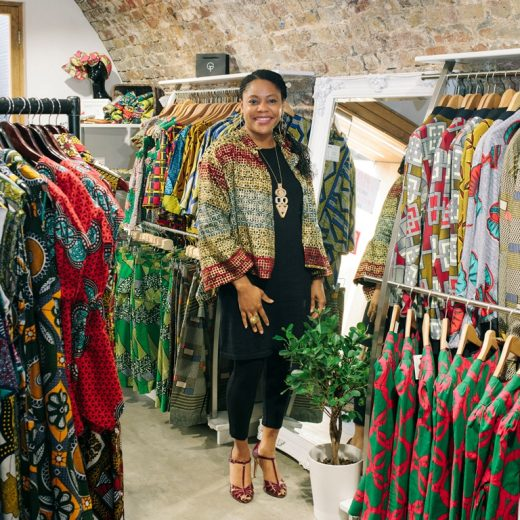 Fashion designer overcomes homelessness