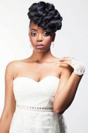 Natural hair brides