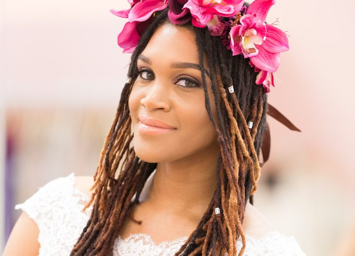 Best bridal styles for lengthy locs