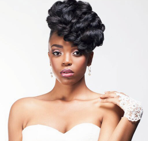 Bridal Hair Styles For Black Brides Black Beauty And Hair