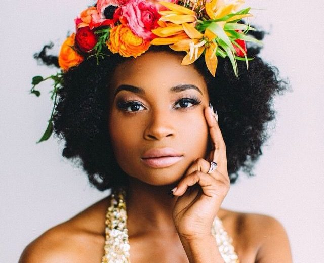 Hair Trend: Floral Afro's