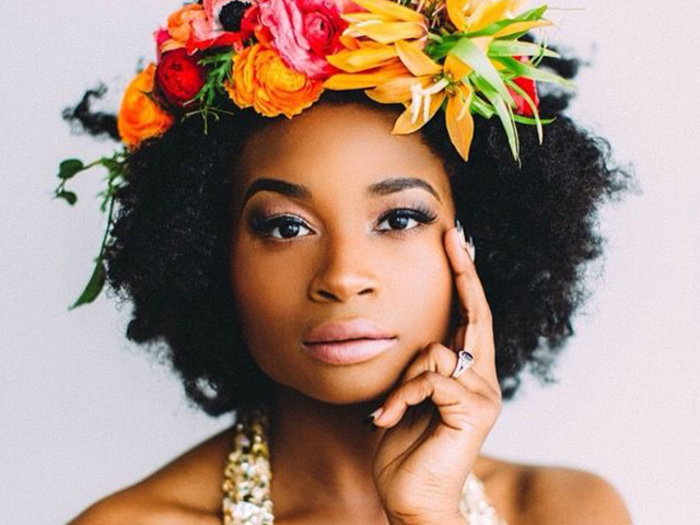 Hair Trend: Floral Afros