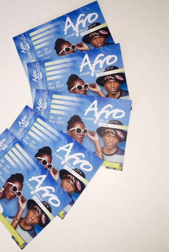 5 pairs of Afro Hair & Beauty LIVE Tickets